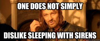 One does not simply DISLIKE sleeping with sirens - One Does Not ... via Relatably.com