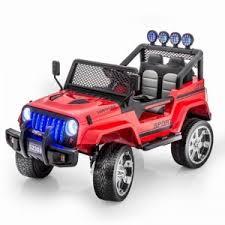 <b>Детский электромобиль Little Sun</b> Red Jeep 12V 2.4G - S2388