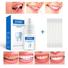 <b>EFERO Teeth Whitening Tooth</b> Brush <b>Essence</b> Oral Hygiene ...