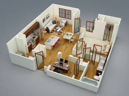 1 bedroom apartmenthouse plans astonishing 3d floor plan