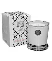 <b>Ароматическая свеча</b> большая Белая смородина и роза, Aquiesse