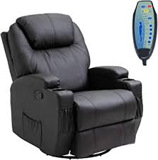 HOMCOM Faux Leather Heated Massage Recliner ... - Amazon.com