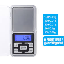 100/200/300/ <b>500g</b> x 0.01g/<b>0.1g Mini Pocket Digital</b> Scale For Gold ...