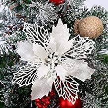 Flower Christmas Decorations - Amazon.co.uk