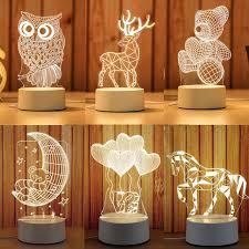 Cartoon 3D Novelty Light LED Lights <b>2019 New Arrivals Kids</b> Baby ...