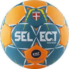 <b>Мяч гандбольный SELECT</b> Mundo Junior (р.2) арт.846211-446