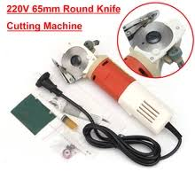 Buy <b>cloth cutting machine</b> round knife and get free shipping on ...