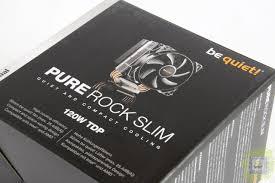 Обзор процессорного <b>кулера be quiet</b>! Pure Rock Slim ...