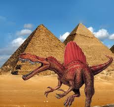 Resultado de imagem para dinossauro no egito