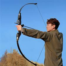 D&Q 53 inches <b>Recurve Bow Archery 30 40 lbs</b> Hunting Shooting ...
