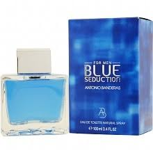 <b>Antonio Banderas Blue</b> Seduction Eau de Toilette Spray for Men ...