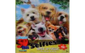 <b>Пазл</b> Super 3D Собаки селфи купить можно тут — Мосигра Москва
