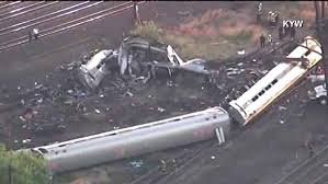 Amtrak resumes service  funerals held for derailment victims     Baltimore Sun   Dead  at least    injured after Amtrak train derails in Philadelphia