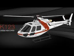 <b>XK K123</b> AS350 Scale Brushless Helicopter - Test Flight - YouTube