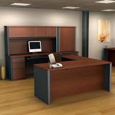 bestar office furniture prestige plus collection executive u desk bordeaux cherrygraphite 171000 altra furniture owen altra furniture owen student writing desk multiple