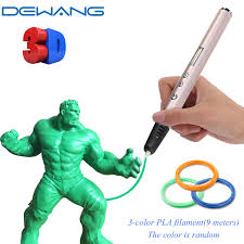<b>DEWANG 3d Pen Scribble</b> Pen with ABS PLA Filament 3 D Printing ...