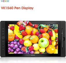 <b>VEIKK VK1560 15.6</b>'' Graphics Drawing Tablet Monitor: Amazon.co ...