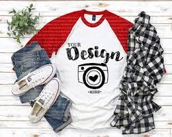 Baselball <b>shirt</b> Mock Up Unisex <b>Women</b> Teen Jersey Mockup <b>Fall</b> ...