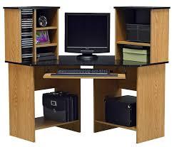 furniture astounding corner computer desk with hutch modern light brown american wood computer desk with awesome oak corner laptop desk