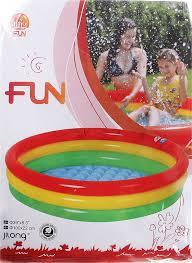 <b>Надувной бассейн Jilong</b> Радуга JL017218NPF — цена, купить ...