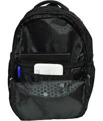 Newera Polyester <b>40L</b> Neblack <b>Laptop Backpack</b>: Amazon.in: Bags ...