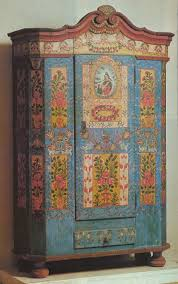 i have always coveted the examples of czech painted furniture i have seen but here was a treasure trove the finest examples of the local styles bohemian furniture
