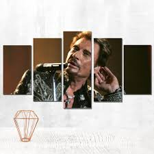 <b>canvas painting johnny</b> hallyday canvas poster the picture on the ...