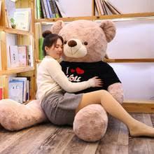 <b>Футболка</b> с надписью Love Teddy <b>Bear</b>, большой плюшевый ...