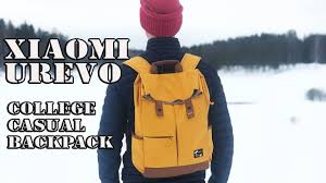 10 фактов о <b>Xiaomi UREVO</b> college casual <b>backpack</b> II Жду лето ...