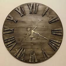 Пин на доске <b>Wall</b> clock decor / <b>creative</b>, <b>wooden</b>, handmade