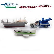 <b>Cartoon crane car/plane/ship usb</b> flash drive 64gb 32gb 16gb 8gb ...