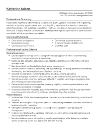 professional healthcare administrative assistant templates to resume templates healthcare administrative assistant