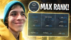 MAX LEVEL ON MODERN WARFARE... - YouTube