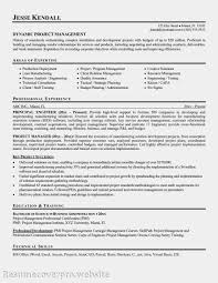 cover letter template for  resume examples for project manager    resume