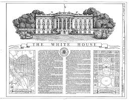 Lesson   How and Why Has the White House Changed    EDSITEment    White House Drawing