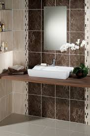 tile bathroom featuring sonoma wood brown bathroom tiles  brown bathroom tiles