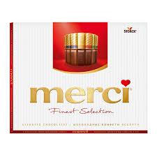 <b>Конфеты Merci</b>, шоколадные, <b>Ассорти</b>, 250 г – акции и скидки в ...