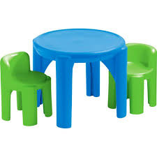 little tikes table and chair set primary colors walmartcom cbe heated cooled chair