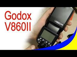 <b>Вспышка Godox</b> V860II - накамерная <b>вспышка</b> для тех кто ...