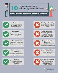 tips to become a successful interviewer do s and don ts 10 tips for successful interviewing infographic