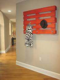 ideas wall shelf hooks: decorationswooden shelves as coat rack in the small space room diy pallet coat rack