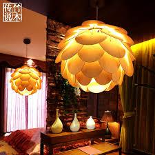 bamboo legend chinese modern southeast asian art chandelier restaurant bedroom study manual lighting lampschina asian lighting