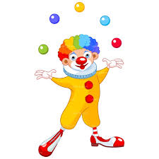 Image result for clown clipart