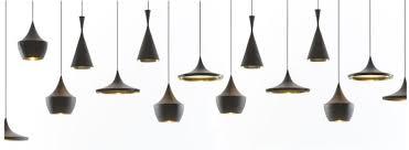 beat_lights_black and gold black pendant lighting