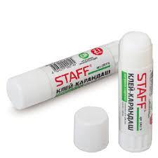 Клей-карандаш <b>Staff</b> 21г | Клей | <b>Офисная канцелярия</b> |