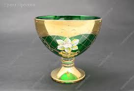 Конфетница из богемского стекла 13 см купить арт. 11600 ...