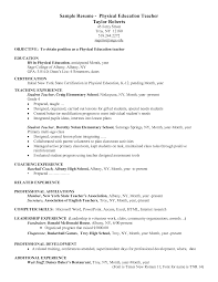 resume objective for physical education teacher resume early cover letter resume objective for physical education teacher resume early childhood assistant preschool salaryresume objective education