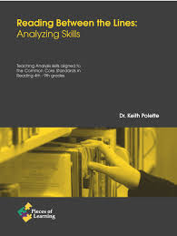 reading between the lines analyzing skills pieces of learning reading between the lines analyzing skills