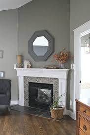 ideas pictures modern portable fireplace flavahomecom: thrifty decor chick our home i like the fireplace hearth tile