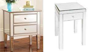 gallery photos of elegant mirror brilliant decorating mirrored furniture target